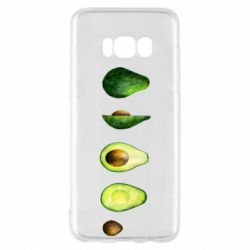 Чехол для Samsung S8 Avocado set