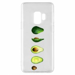 Чехол для Samsung S9 Avocado set