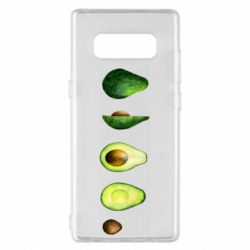 Чехол для Samsung Note 8 Avocado set