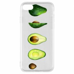 Чехол для iPhone 8 Avocado set
