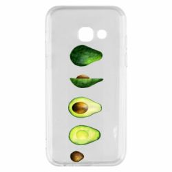 Чехол для Samsung A3 2017 Avocado set