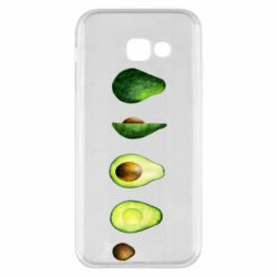 Чехол для Samsung A5 2017 Avocado set