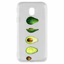Чехол для Samsung J3 2017 Avocado set