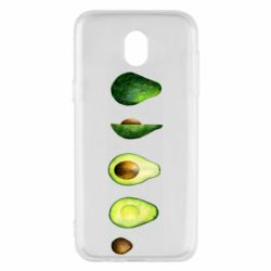 Чехол для Samsung J5 2017 Avocado set