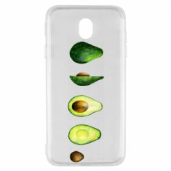 Чехол для Samsung J7 2017 Avocado set
