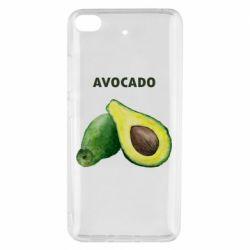 Чехол для Xiaomi Mi 5s Avocado watercolor