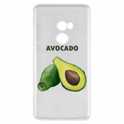 Чехол для Xiaomi Mi Mix 2 Avocado watercolor