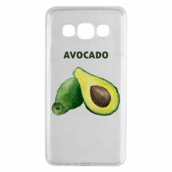 Чехол для Samsung A3 2015 Avocado watercolor