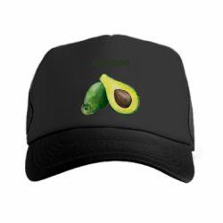 Кепка-тракер Avocado watercolor