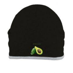 Шапка Avocado watercolor