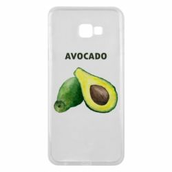 Чехол для Samsung J4 Plus 2018 Avocado watercolor
