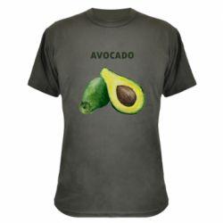 Камуфляжная футболка Avocado watercolor