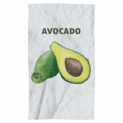 Полотенце Avocado watercolor