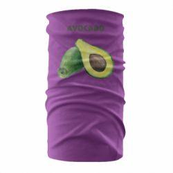 Бандана-труба Avocado watercolor