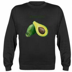Реглан (свитшот) Avocado watercolor