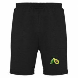Мужские шорты Avocado watercolor