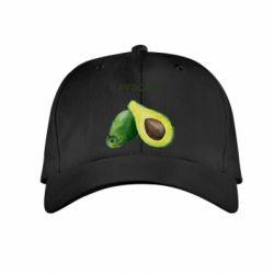 Детская кепка Avocado watercolor