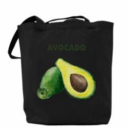 Сумка Avocado watercolor