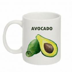 Кружка 320ml Avocado watercolor