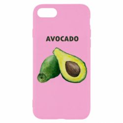 Чехол для iPhone 8 Avocado watercolor