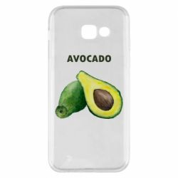 Чехол для Samsung A5 2017 Avocado watercolor