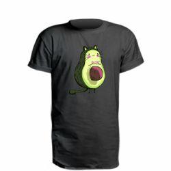 Удлиненная футболка Avocat - FatLine