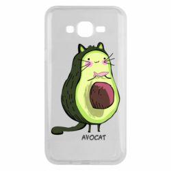 Чехол для Samsung J7 2015 Avocat - FatLine