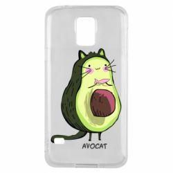 Чехол для Samsung S5 Avocat - FatLine