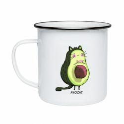 Кружка эмалированная Avocat - FatLine