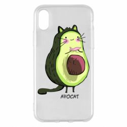 Чехол для iPhone X/Xs Avocat