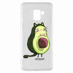 Чехол для Samsung A8+ 2018 Avocat - FatLine