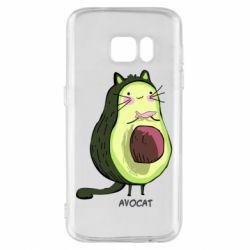 Чехол для Samsung S7 Avocat - FatLine