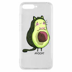 Чехол для Huawei Y6 2018 Avocat - FatLine