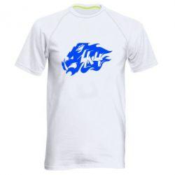 Мужская спортивная футболка Авто графика