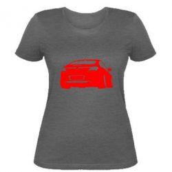Женская футболка Авто