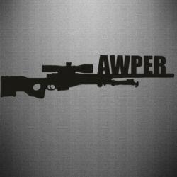 Наклейка Aweper