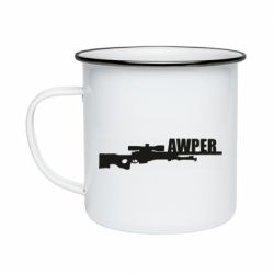 Кружка емальована Aweper