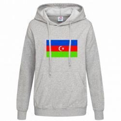 Женская толстовка Азербайджан - FatLine