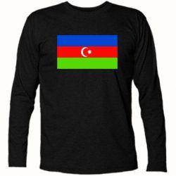 Купить Футболка с длинным рукавом Азербайджан, FatLine