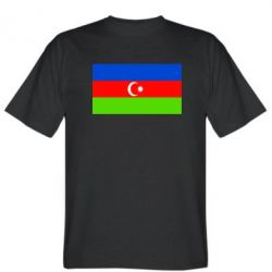 Мужская футболка Азербайджан - FatLine
