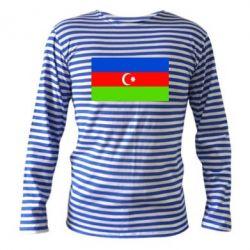 Тельняшка с длинным рукавом Азербайджан - FatLine