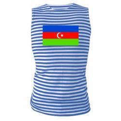 Майка-тельняшка Азербайджан - FatLine