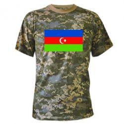 Камуфляжная футболка Азербайджан - FatLine