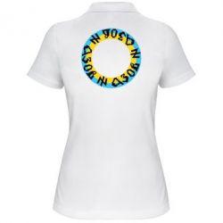 Женская футболка поло Азов Круг - FatLine