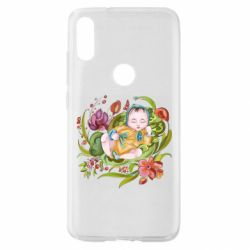 Чехол для Xiaomi Mi Play Baby and flowers