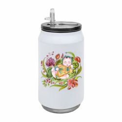 Термобанка 350ml Baby and flowers