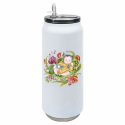 Термобанка 500ml Baby and flowers