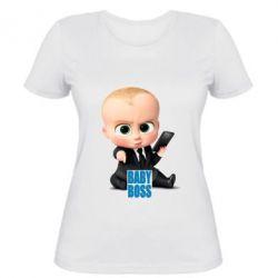 Женская футболка Baby Boss 2