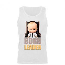 Мужская майка Baby Boss leader