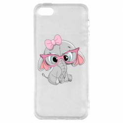 Чехол для iPhone5/5S/SE Baby elephant 1